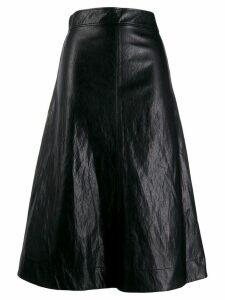 Cédric Charlier A-line skirt - Black