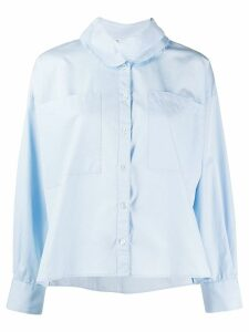 Barena contrasting collar shirt - Blue