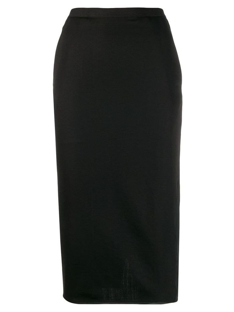 Rick Owens pencil skirt - Black