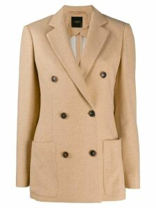 Agnona double-breasted jacket - Neutrals