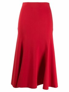 Philosophy Di Lorenzo Serafini full midi skirt - Red