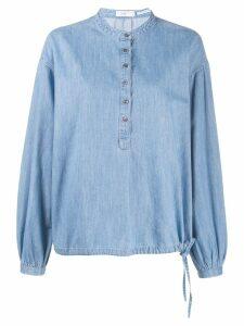 Closed oversized denim shirt - Blue