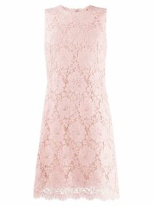 Dolce & Gabbana lace mini sheath dress - Pink