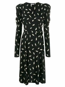 P.A.R.O.S.H. lightning bolt dress - Black