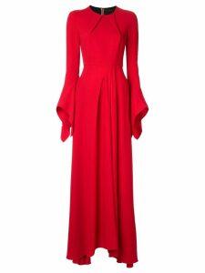 Roland Mouret Raines maxi dress - Red