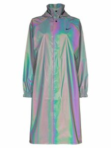 Nike iridescent raincoat - Reflective