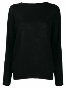 Prada V-neck knitted cardigan - Black