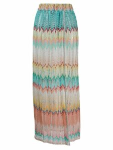 Missoni Mare zigzag knit skirt - Blue