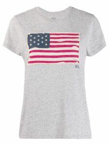 Polo Ralph Lauren USA flag T-shirt - Grey