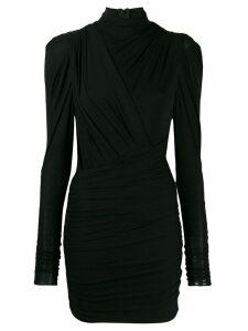 Isabel Marant turtle-neck fitted dress - Black