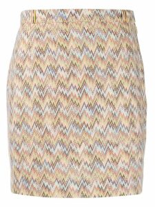 Missoni fine knit skirt - Neutrals