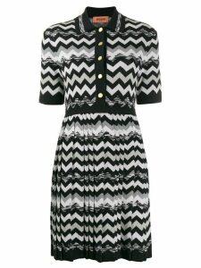 Missoni zigzag print dress - Black