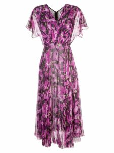 Jason Wu Collection long floral print dress - PINK