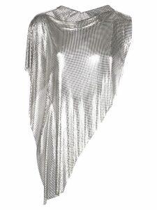 Fannie Schiavoni Iza No Fringe top - Silver