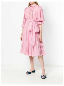 Dolce & Gabbana tie waist dress - Pink