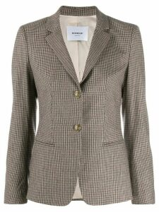 Dondup single-breasted blazer - Neutrals
