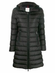 Moncler zipped padded coat - Black