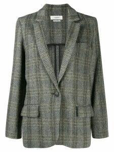 Isabel Marant Étoile herringbone single-breasted blazer - Neutrals