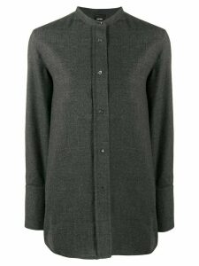 Aspesi loose-fit wool shirt - Grey