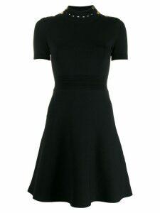 Sandro Paris short-sleeved knit dress - Black