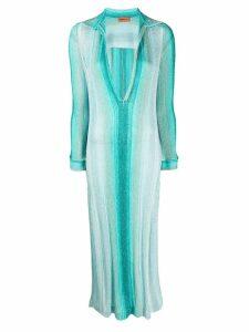 Missoni Mare striped maxi dress - Blue