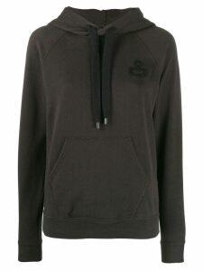 Isabel Marant Étoile hooded sweatshirt - Black