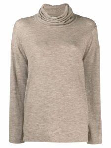 The Row Zalani turtleneck sweater - Neutrals