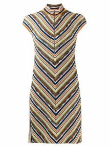 Missoni fine knit dress - Blue
