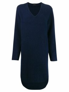 Frenken Hug knitted midi dress - Blue