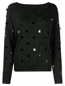 P.A.R.O.S.H. embellished jumper - Black