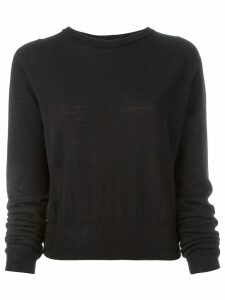 Rick Owens crew neck jumper - Black