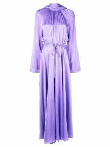 Solace London Akan high neck maxi dress - Purple