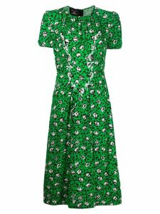 Marc Jacobs sofia loves the 40's printed dress - Green