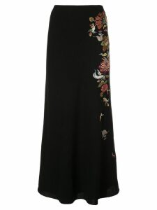 Cinq A Sept Crepe Marta skirt - Black