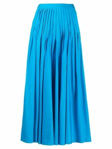Roksanda midi pleated skirt - Blue