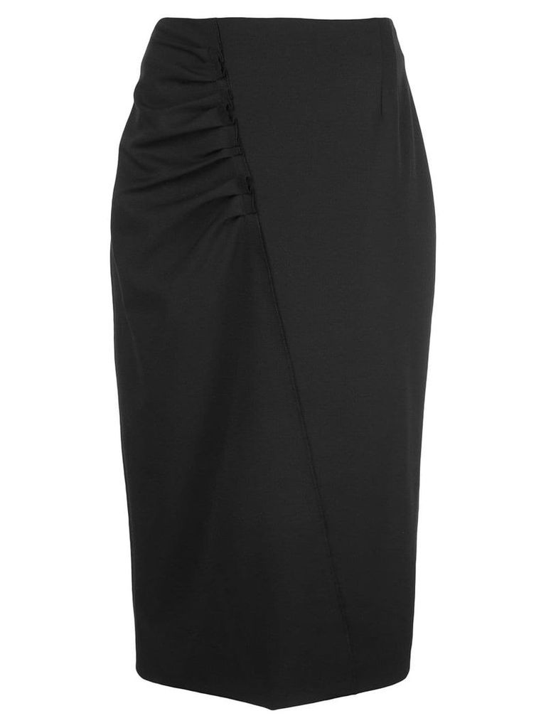 Jason Wu Collection ruched side skirt - Black