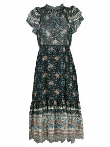 Ulla Johnson Reese georgette midi dress - Blue