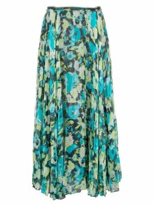 Jason Wu Collection patterned pleated skirt - Green