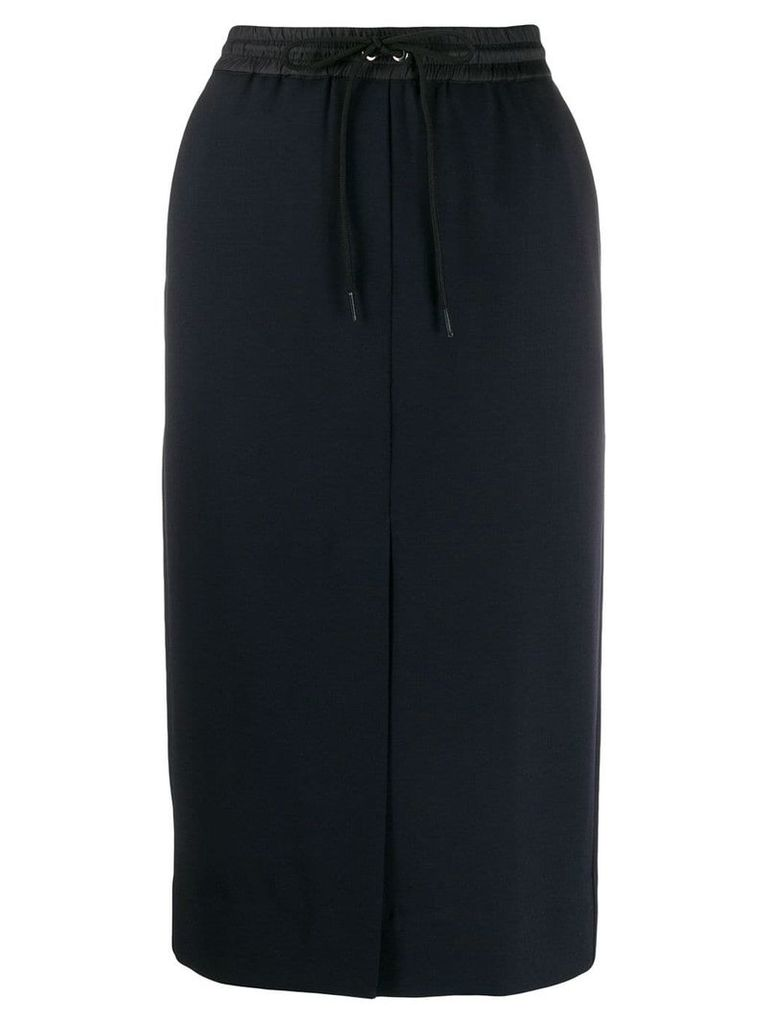 P.A.R.O.S.H. straight midi skirt - Blue