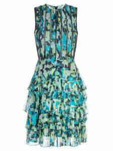 Jason Wu Collection layered ruffle day dress - Green