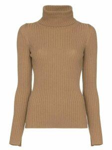 Nili Lotan Myla roll-neck cashmere sweater - Brown