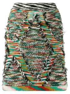 Missoni chunky knit skirt - Green