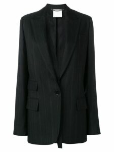 Stella McCartney striped suit blazer - Black