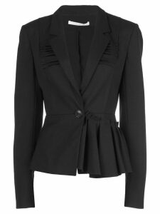 Jason Wu Collection asymmetric peplum blazer - Black