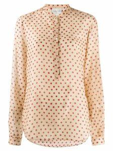 Forte Forte polka dot blouse - Neutrals