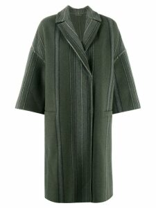 Brunello Cucinelli oversized coat - Green