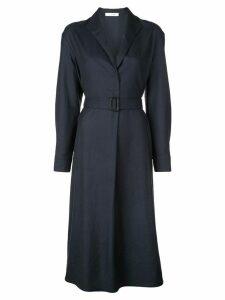 The Row belted waist dress - Blue