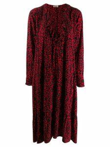 Zadig & Voltaire Rikota print dress - Red