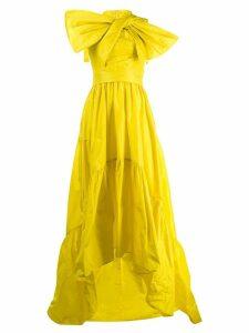 Talbot Runhof Toucan evening dress - Yellow