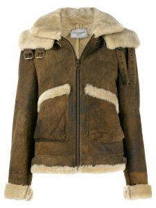 Forte Dei Marmi Couture sheepskin shearling jacket - Brown